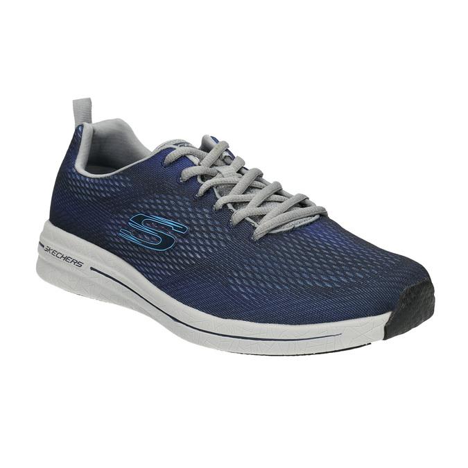 Pánske tenisky s pamäťovou penou skechers, modrá, 809-9141 - 13