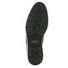 Kožená členková obuv s ležérnou podošvou bata, čierna, 826-4818 - 26