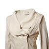 Dámská bunda s asymetrickým zipsom bata, béžová, 979-8635 - 16