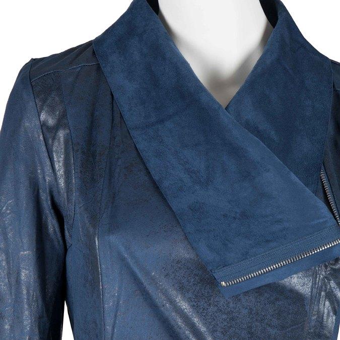 Modrá jarná bunda bata, modrá, 979-9635 - 16