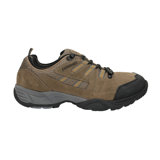 Kožená Outdoor obuv power, hnedá, 803-3118 - 15