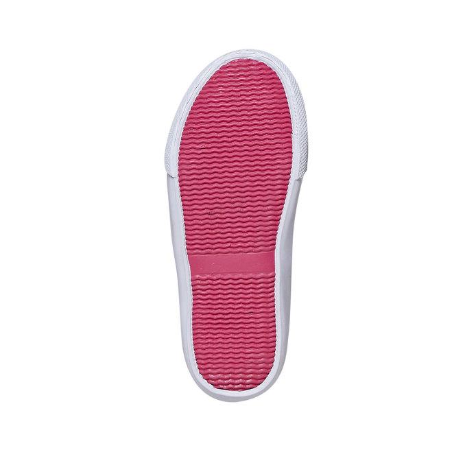 Dievčenské Slip-on obuv s kamienkami north-star, ružová, 229-5193 - 26