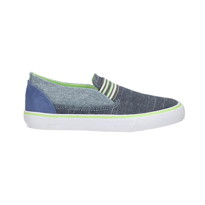 Detské Slip-on topánky north-star-junior, modrá, 219-9612 - 15