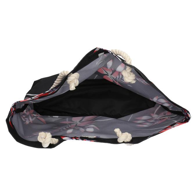 Plážová taška roxy, čierna, 969-6059 - 15
