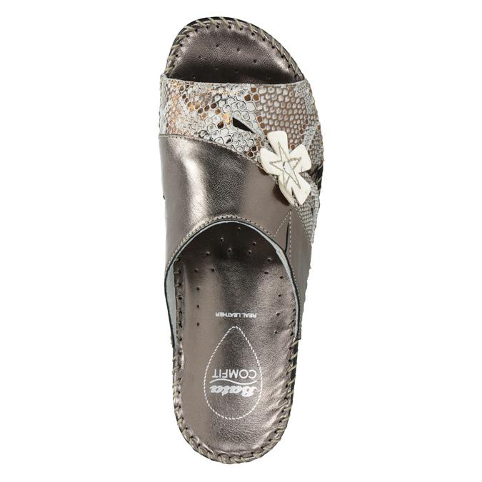 Kožená domáca obuv comfit, 674-8120 - 19