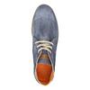 Členková obuv z brúsenej kože weinbrenner, modrá, 843-9625 - 19