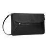 Čierna kožená listová kabelka bata, čierna, 964-6219 - 13
