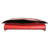 Červená kožená listová kabelka bata, červená, 964-5219 - 15