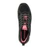 Dámske športové tenisky power, čierna, 509-6158 - 19