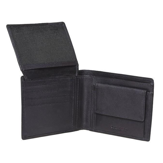 Pánská kožená peňaženka bata, čierna, 944-6124 - 19