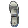 Detské sandále na suchý zips mini-b, šedá, 461-2605 - 19