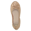 Dámske baleríny s pružným lemom bata, béžová, 521-5601 - 19