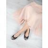 Dámske baleríny s pružným lemom bata, čierna, 521-2601 - 18