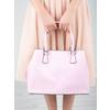 Ružová kabelka s pevnými rúčkami bata, ružová, 961-5701 - 19