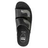 Kožená domáca obuv comfit, čierna, 674-6600 - 19