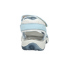 Kožené detské sandále weinbrenner-junior, modrá, 466-9607 - 17