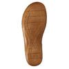 Kožené sandále šírky H bata, biela, 566-1604 - 26