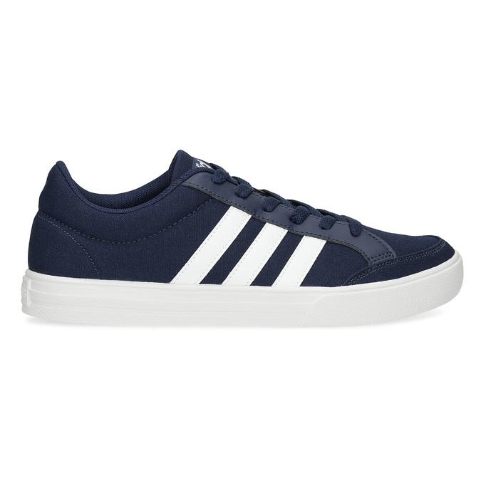 Modré pánske textilné tenisky adidas, modrá, 889-9235 - 19