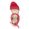 Červené sandále na ihličkovom podpätku bata, červená, 769-5603 - 26