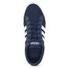Modré pánske textilné tenisky adidas, modrá, 889-9235 - 17