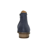 Členkové čižmy z brúsenej kože gabor, modrá, 613-9013 - 17