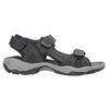 Kožené pánske sandále weinbrenner, čierna, 866-6630 - 15