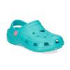 Tyrkysové detské sandále Clogs coqui, modrá, 372-9605 - 13