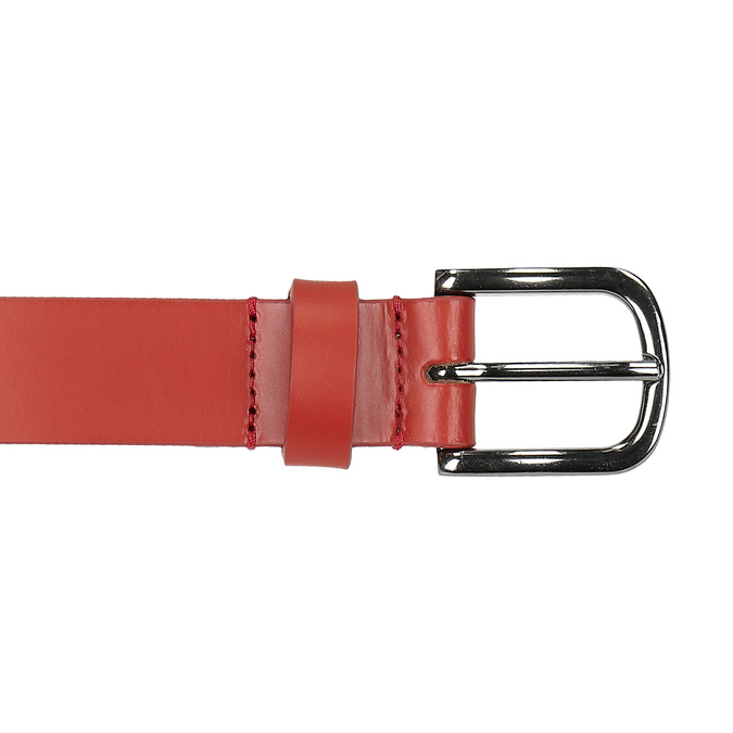 Kožený červený opasok weinbrenner, červená, 954-5152 - 26