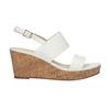 Dámske sandále na korkovej platforme insolia, biela, 761-1611 - 15