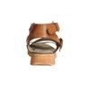 Kožené sandále na výraznej podrážke weinbrenner, hnedá, 566-4627 - 17
