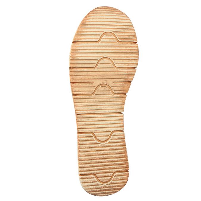 Kožené sandále na výraznej podrážke weinbrenner, hnedá, 566-4627 - 26