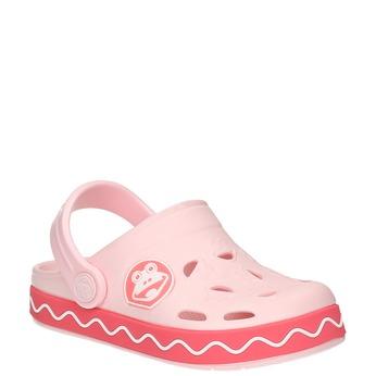 Ružové sandále so žabkou coqui, ružová, 272-5603 - 13