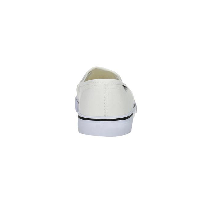 Dámska obuv v štýle Slip-on tomy-takkies, biela, 589-1171 - 17