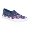 Dievčenská obuv v štýle Slip-on mini-b, modrá, 329-9611 - 13