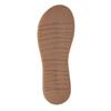 Dámske kožené žabky bata, šedá, 566-2607 - 26