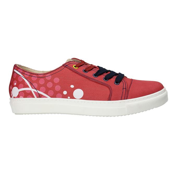 Kožené tenisky z limitovanej edície bata, červená, 546-5800 - 15