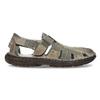 Pánske hnedé kožené sandále bata, hnedá, 866-2622 - 19