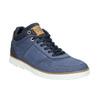 Kožené členkové tenisky bata, modrá, 846-9641 - 13