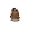 Ležérne kožené poltopánky bata, hnedá, 826-3910 - 17