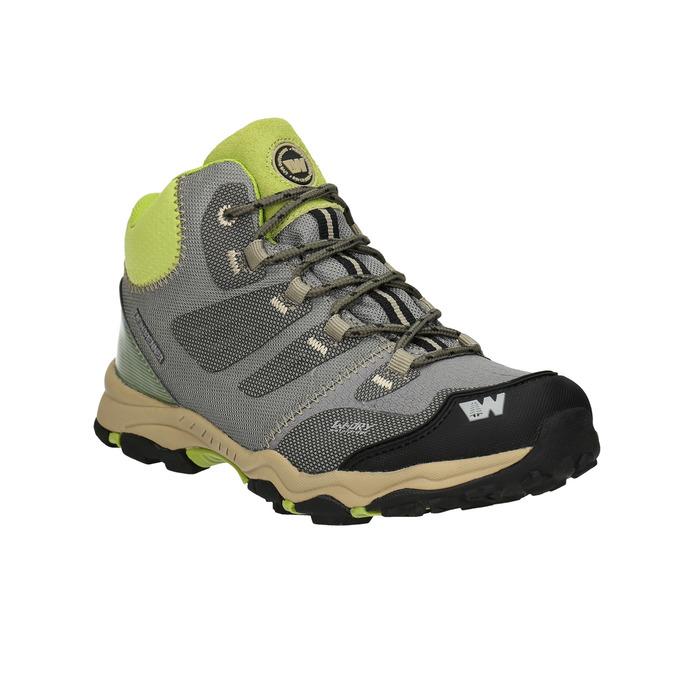 Šedá detská Outdoor obuv weinbrenner-junior, šedá, 419-2613 - 13