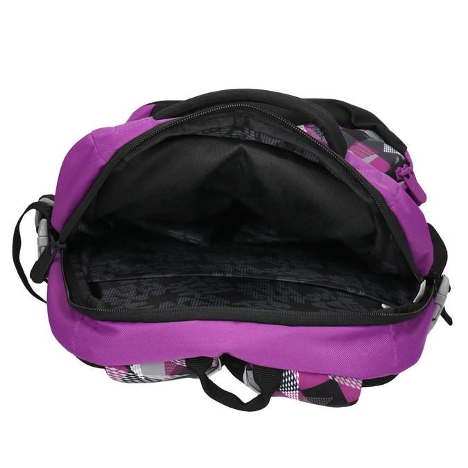 Školský batoh s potlačou bagmaster, fialová, 969-5656 - 15