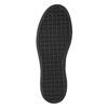 Dámske Slip-on na čiernej flatforme bata, šedá, 516-1613 - 19