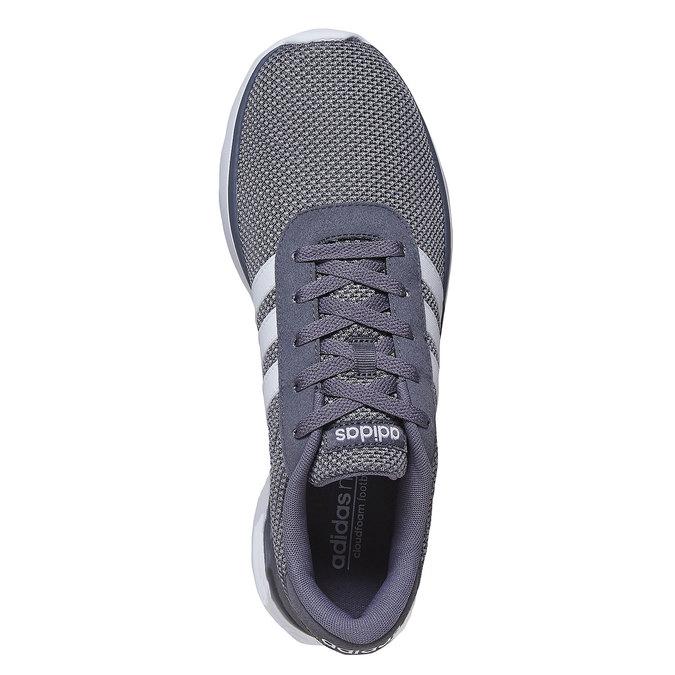Pánske šedé tenisky adidas, šedá, 809-2198 - 19