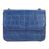 Modrá kabelka so štruktúrou bata, modrá, 961-9753 - 19