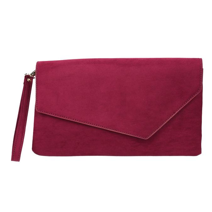 Dámska vínová listová kabelka bata, červená, 969-5665 - 19