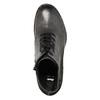 Dámska kožená členková obuv bata, šedá, 696-2627 - 26
