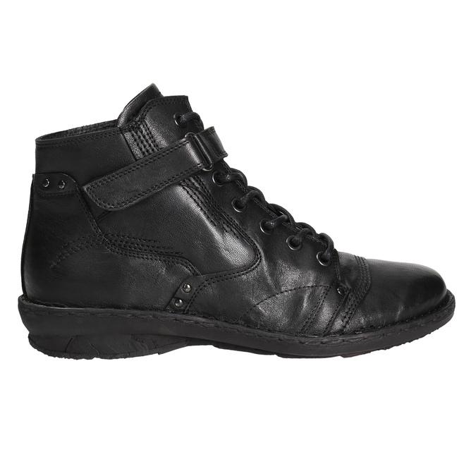 Členková dámska obuv bata, čierna, 596-6656 - 15