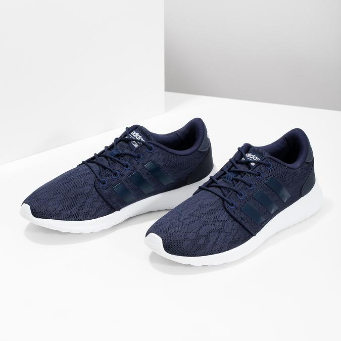Modré tenisky športového strihu adidas, modrá, 509-9112 - 16