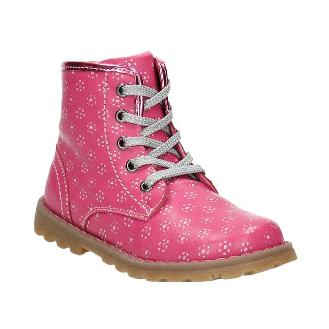 Ružová členková obuv bubblegummers, ružová, 221-5606 - 13