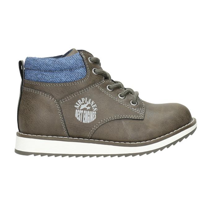 Chlapčenská členková obuv mini-b, hnedá, 211-3623 - 15